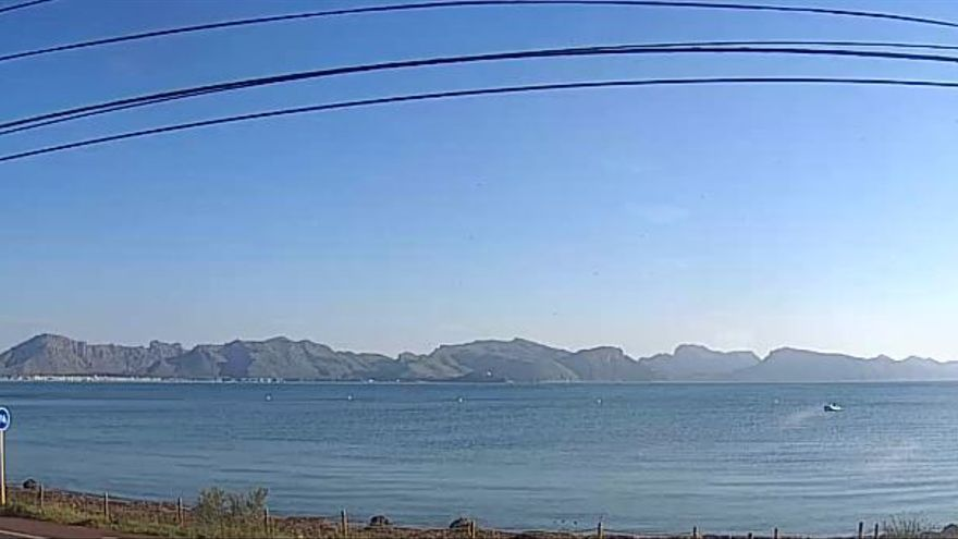 Previsión meteorológica para hoy lunes, 17 de mayo, en Baleares: bajada de temperaturas