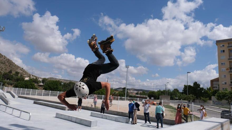 El Skate Park de Elda acoge el Campeonato Autonómico de Roller Freestyle y Scooter Freestyle