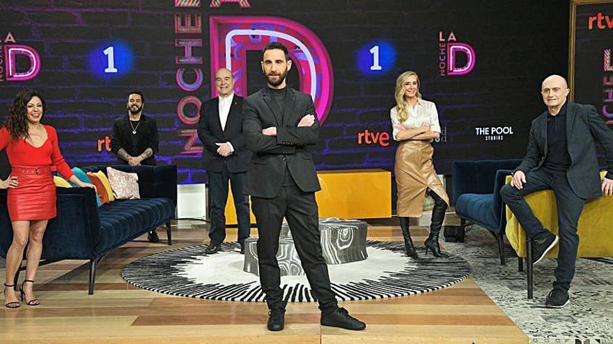 David Perdomo, colaborador del programa 'La noche D' en TVE
