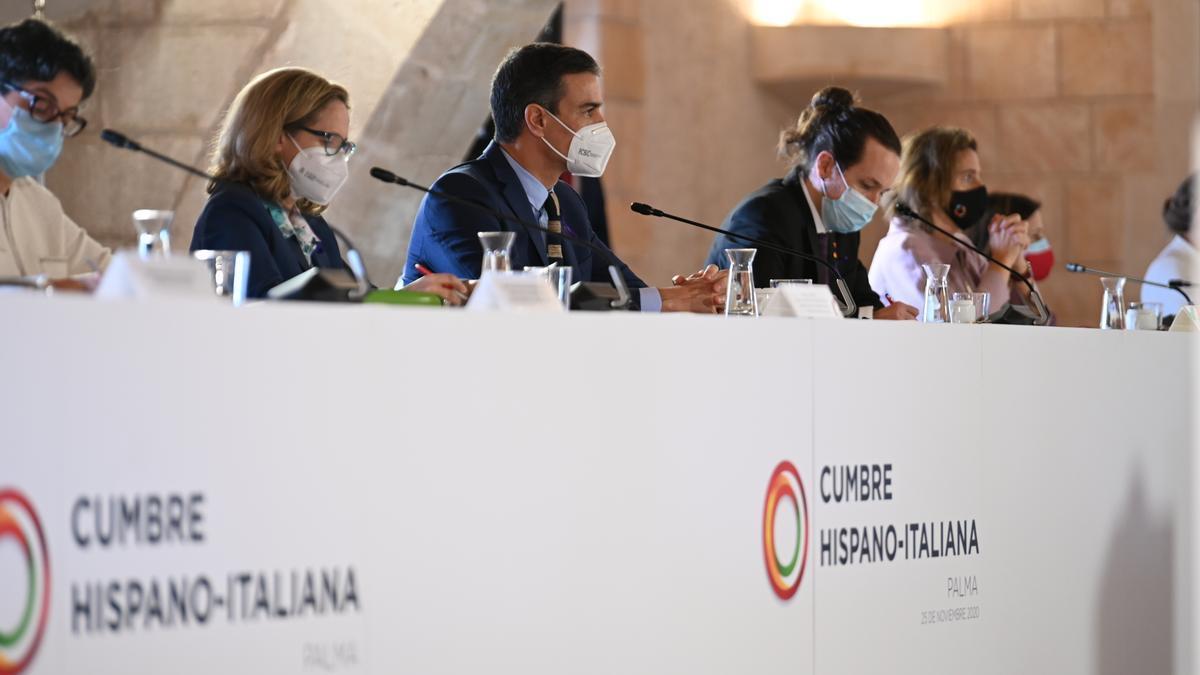 Cumbre entre España e Italia en el Palma