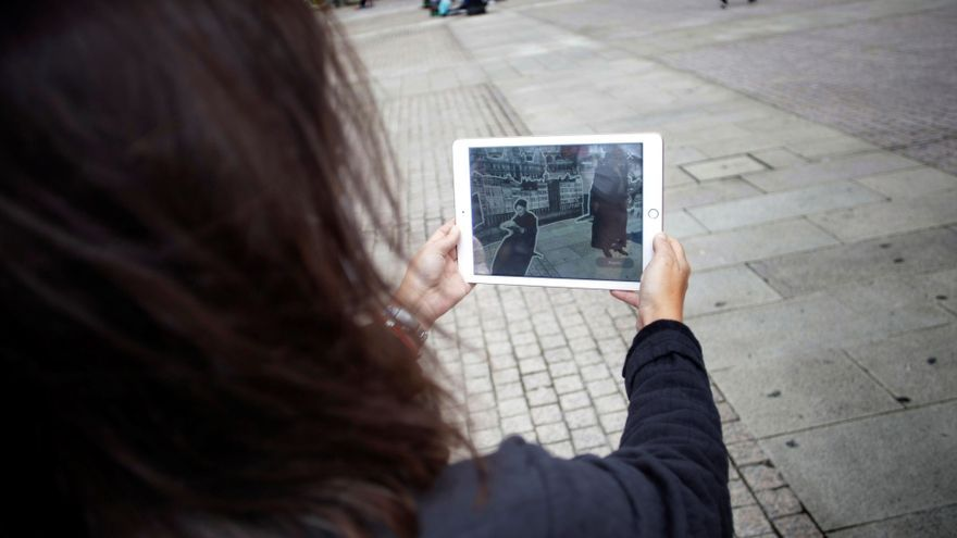Una aplicación permitirá conocer la historia de la ciudad con una representación virtual de Pardo Bazán
