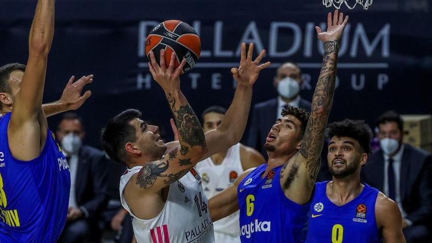 Un mejorado Real Madrid gana sin paliativos al Maccabi