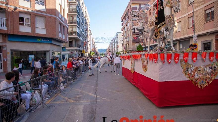 Desfile día 4 de mayo en Caravaca (Bando Caballos del Vino)