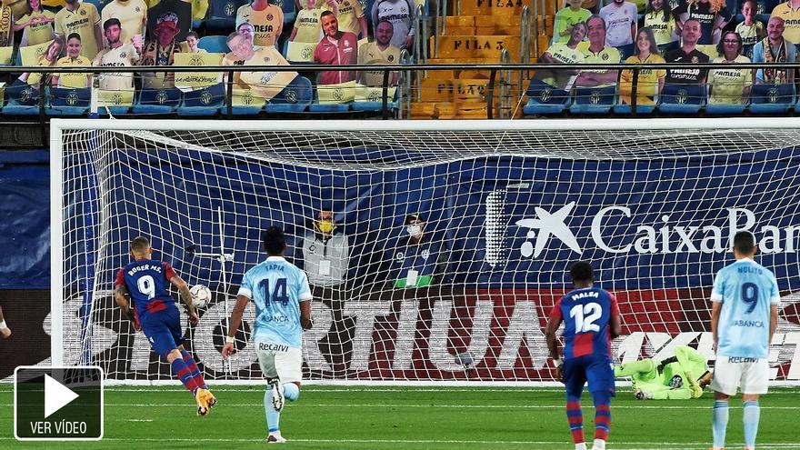 El VAR impide la victoria del Levante UD ante el Celta de Vigo