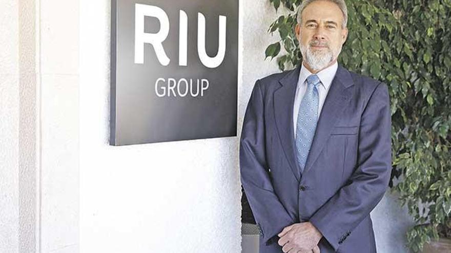 """Luis Riu: """"Las habitaciones gratis fueron muestras de hospitalidad, ningún funcionario hizo algo impropio"""""""