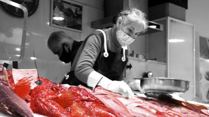 Una foto del Olivar gana el concurso 'Ven a tu mercado'
