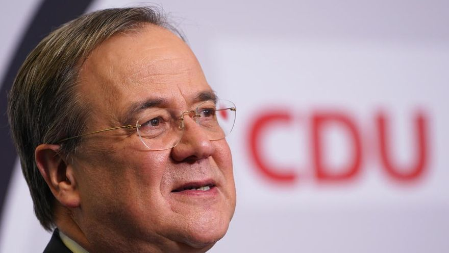 El partido de Merkel ratifica a Armin Laschet como su sucesor