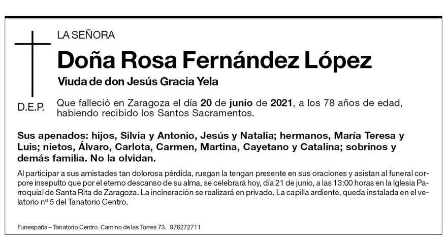 Rosa Fernández López
