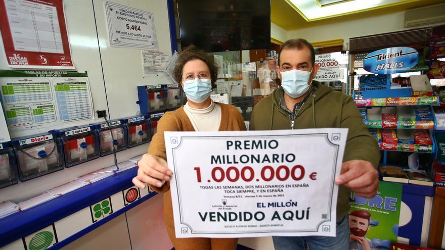 EuroMillones deja un millón de euros en Sancti Spiritus (Salamanca)