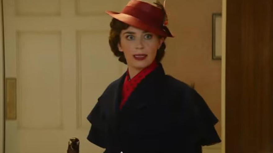 El tráiler de 'El Regreso de Mary Poppins' ya está aquí y te embargará de emoción