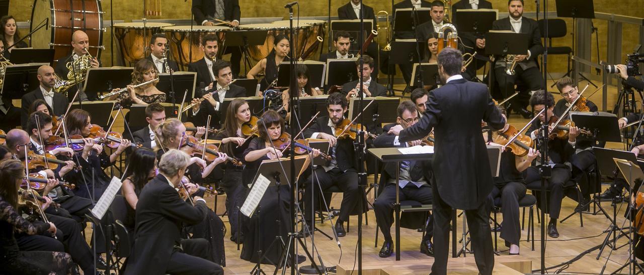 Concierto de ADDA Simfònica en el Auditorio de Alicante.