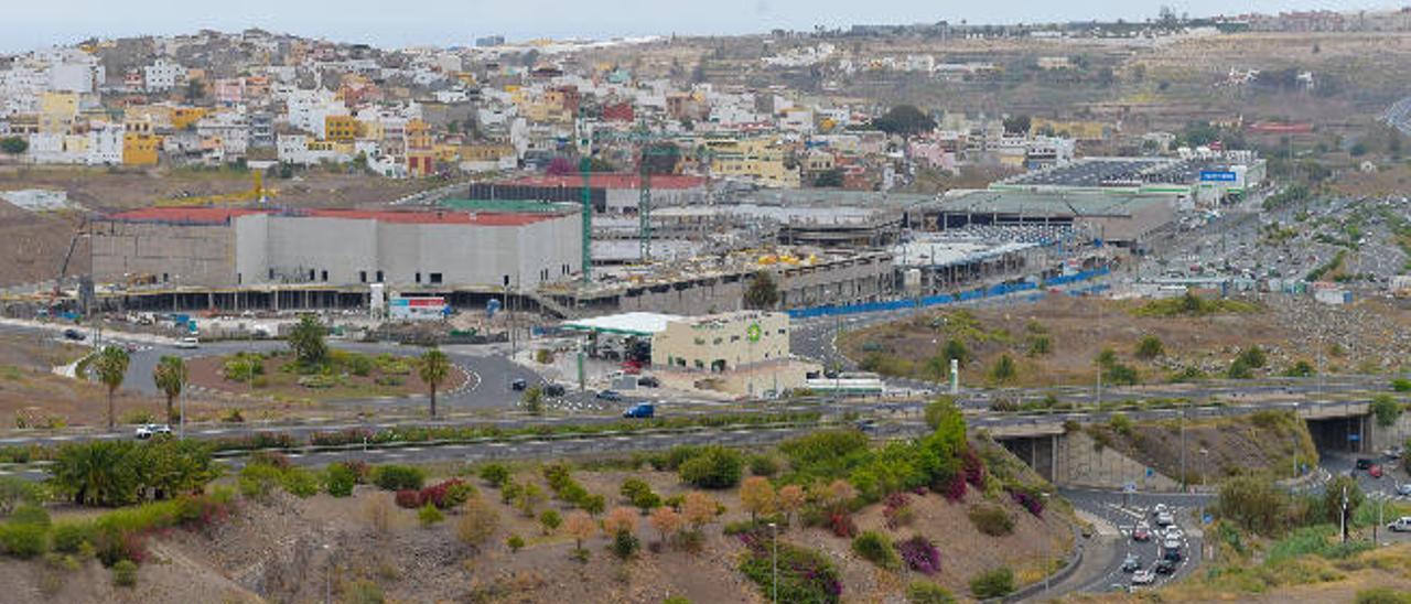 Urbanismo amplía los viales de acceso a Tamaraceite para reducir los atascos