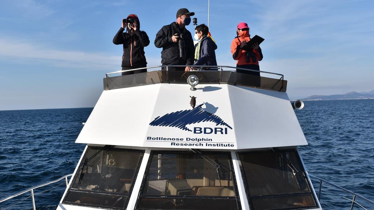 La embarcación principal del BDRI.