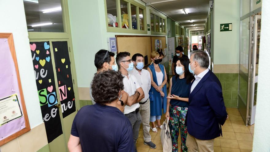La Junta invierte 2,1 millones en reformar el colegio San Miguel
