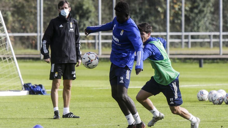 El gol, bendito problema para el Oviedo: cinco jugadores llevan ya dos tantos