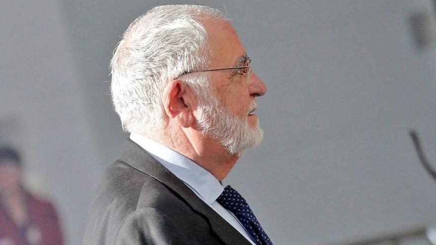 El juicio a Cotino por la visita del papa en la A.Nacional será en marzo de 2020