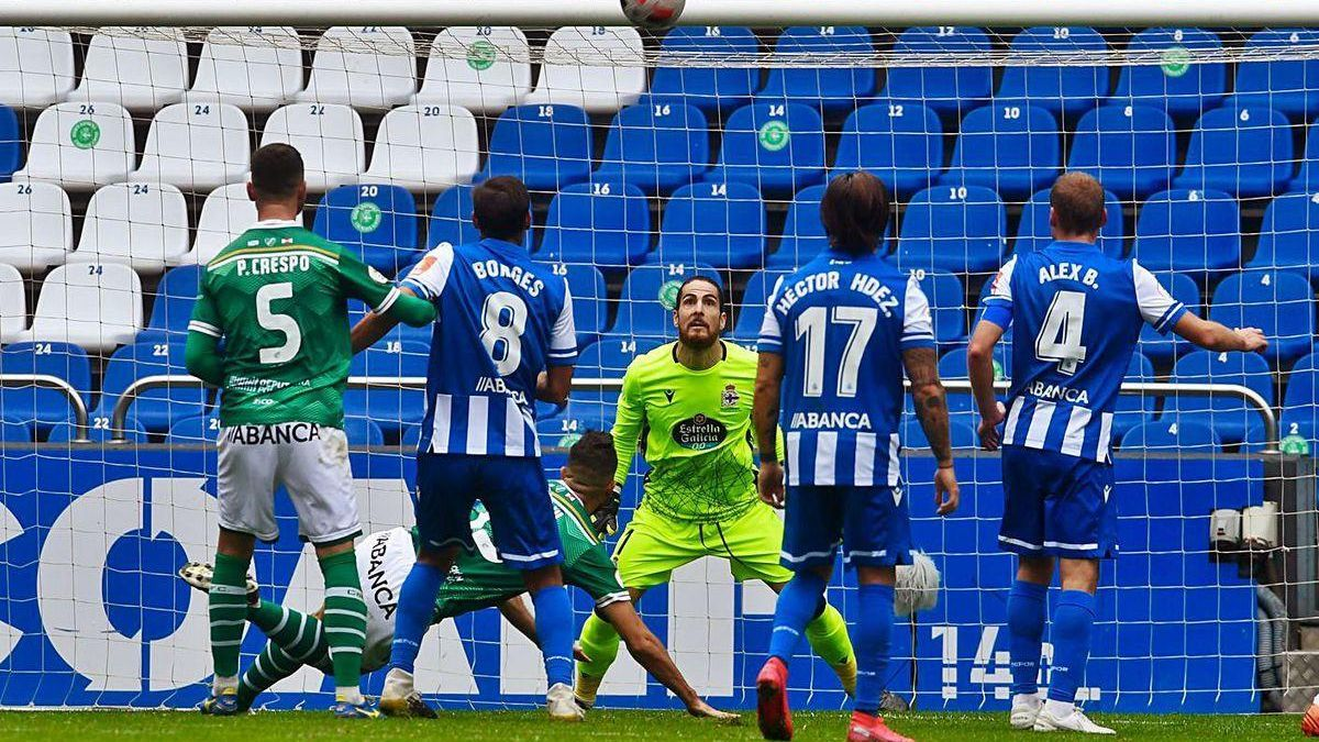 Carlos Abad, tres jornadas sin encajar gol