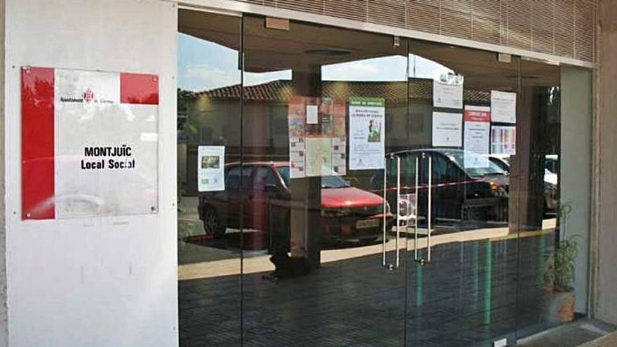 Queda deserta la licitació per comprar un local a Montjuïc i fer un espai cívic