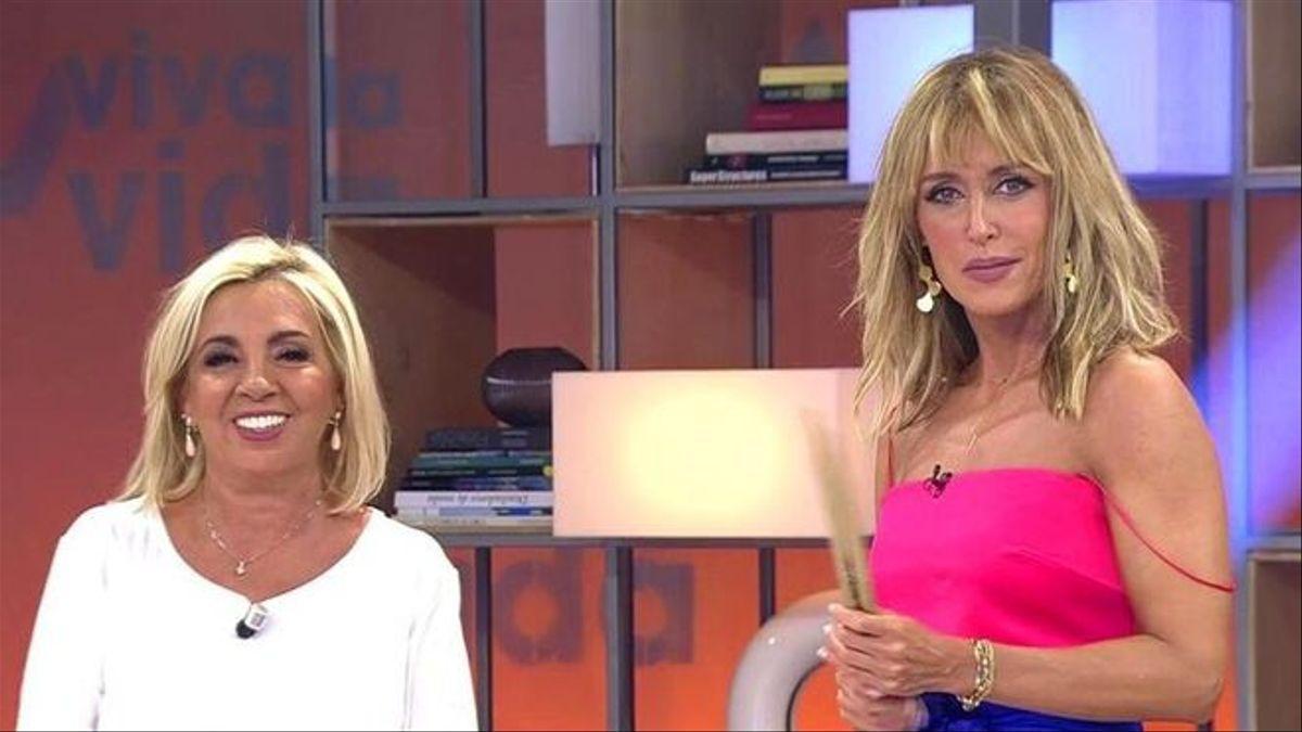 Carmen Borrego y Emma García.