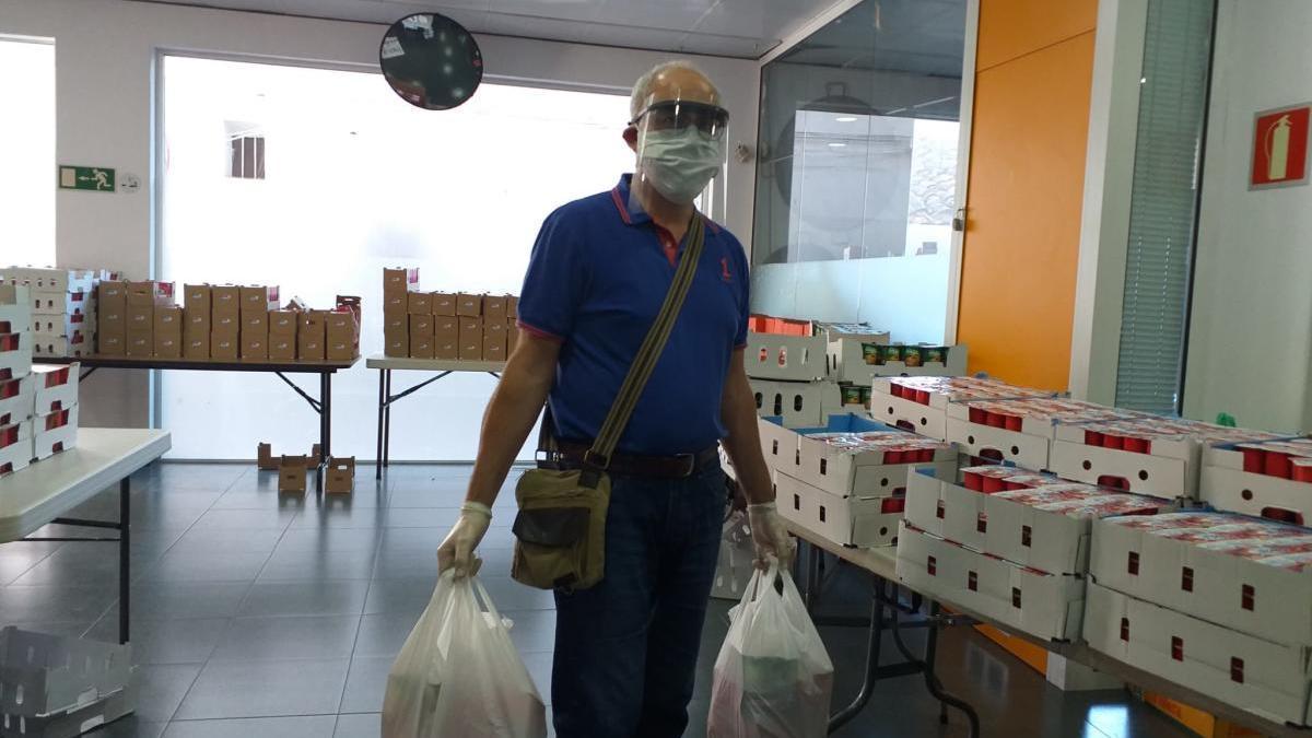 Alaquàs reparte 2.400 productos donados por Mercadona