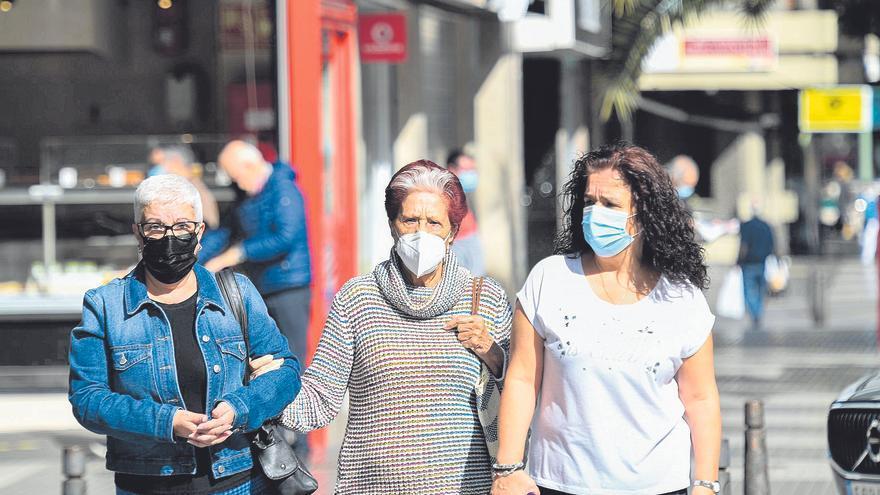Canarias es la única región que está fuera del riesgo extremo de contagio