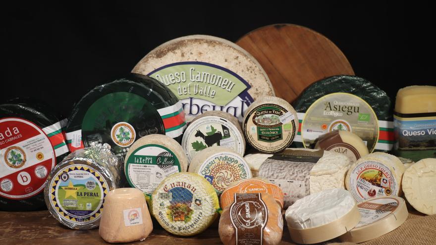 Los 40 quesos de la región, protagonistas esta tarde en el Club