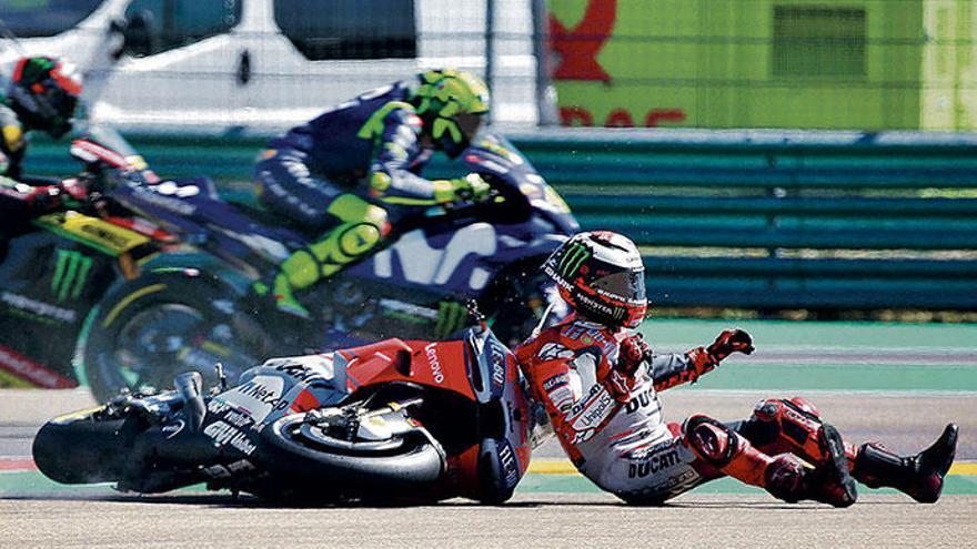 Comeback und Abschied für Jorge Lorenzo beim MotoGP-Finale