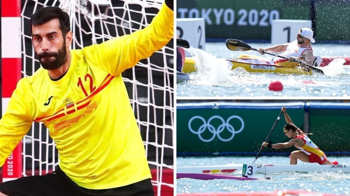 Estos son los deportistas gallegos que tienen cita olímpica este jueves 5 de agosto.