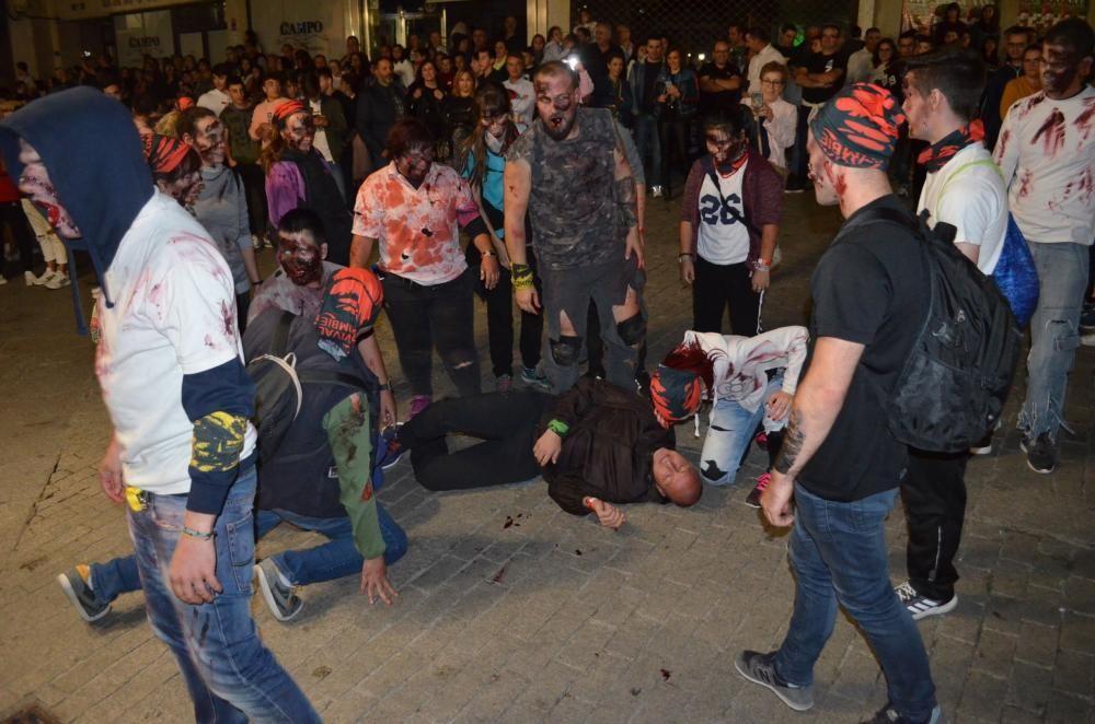 La noche de los zombies en Benavente