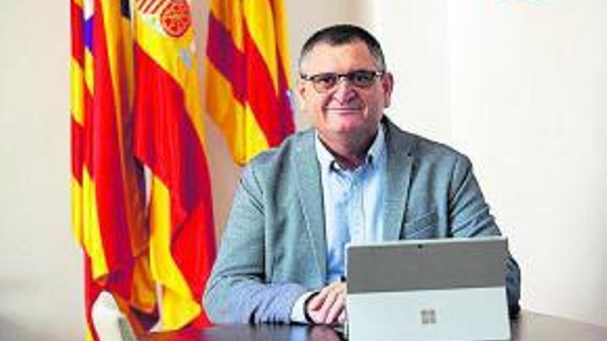 Ángel Luis Guerrero, alcalde de Sant Josep.
