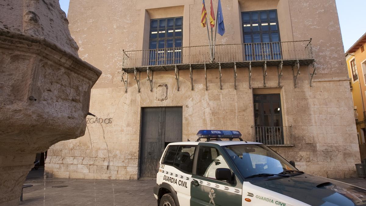 Imagen de archivo del Juzgado de Xàtiva