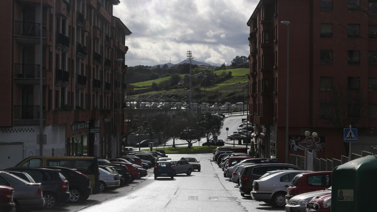 Calle de Dolores Ibarruri en El Quirinal.