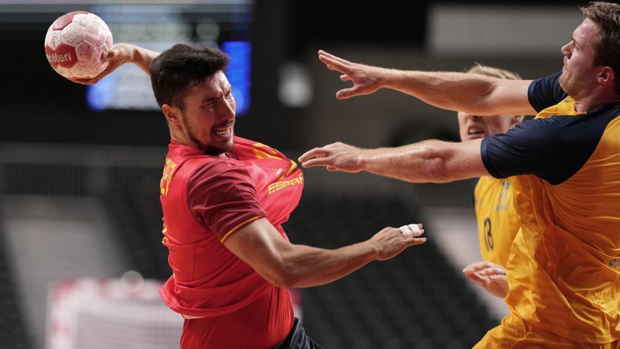 La selecció espanyola de handbol reacciona davant Suècia per optar a medalla