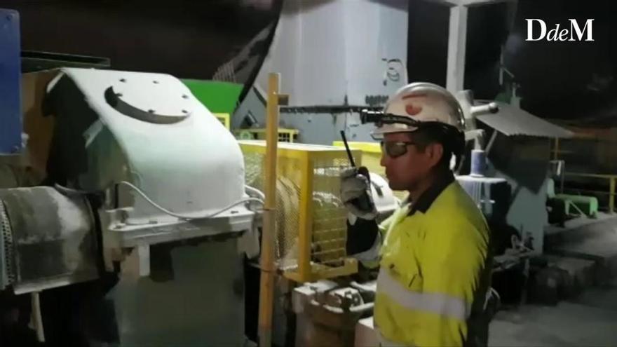 Protest: Arbeiter legen Ofen in Zementfabrik Lloseta lahm
