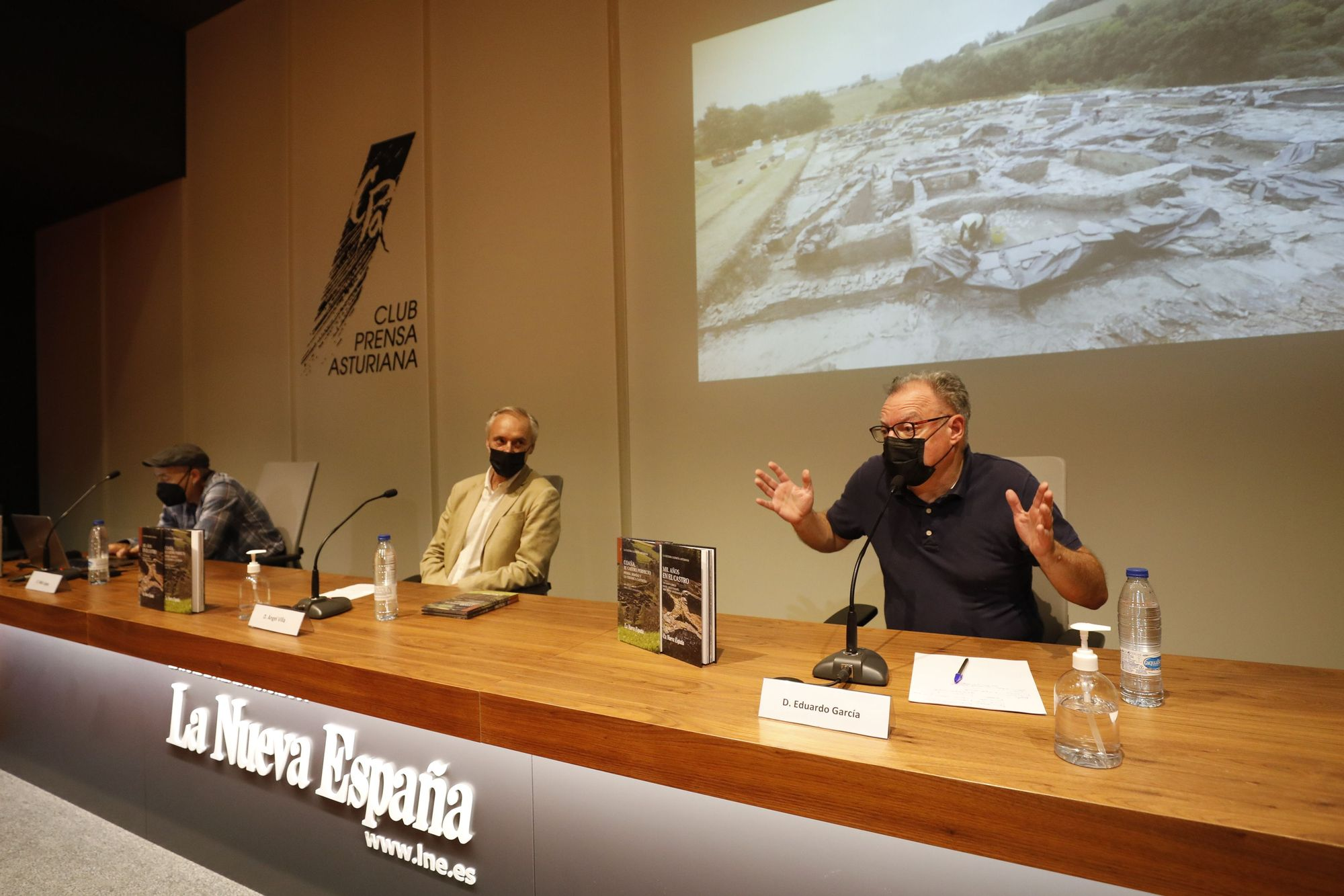 Presentación de la colección de libros sobre castros de LA NUEVA ESPAÑA