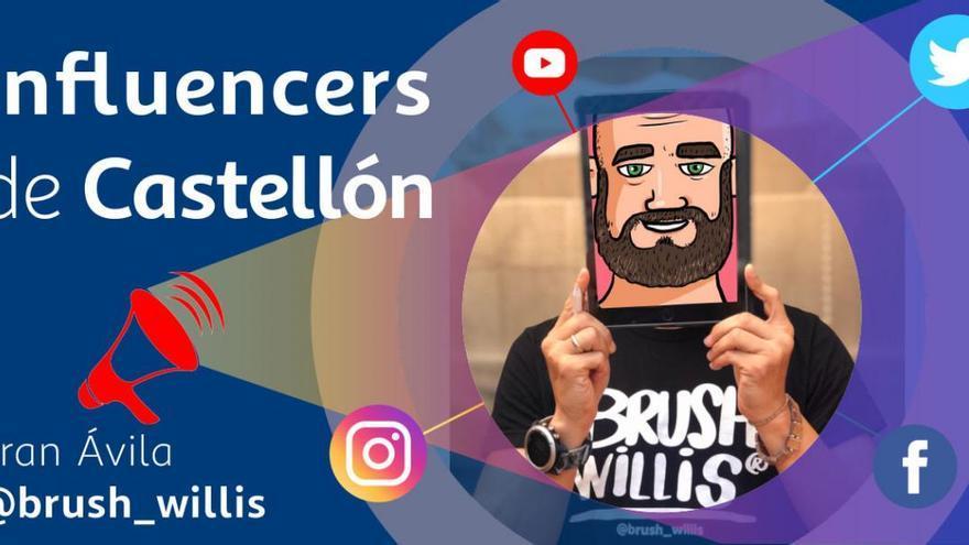 Así es el enigmático @brush_willis, el dibujante más influyente de Castellón