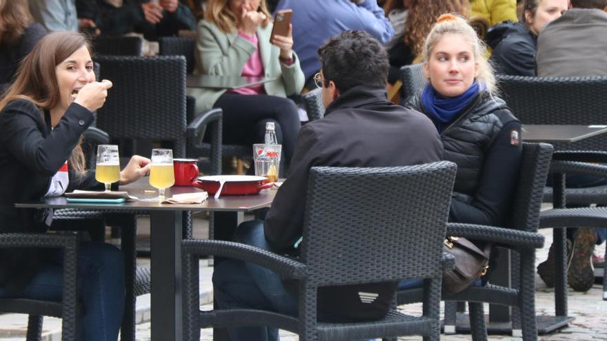 L'hostaleria de Girona tanca amb ocupacions del 55% aquest cap de setmana