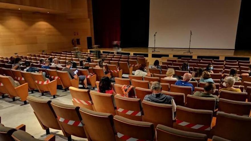 Sala de butacas del auditorio en una anterior proyección.   | // G.N.
