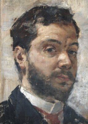 Autorretrato de Vicente Marco.