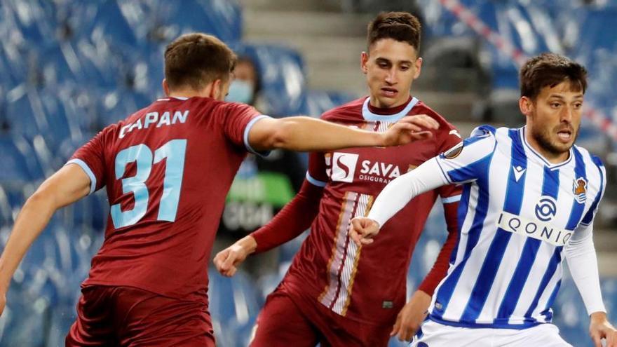 La Real cede un empate ante el Rijeka y deja los deberes para Nápoles