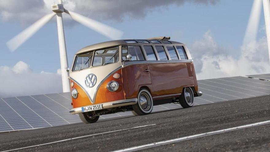 Nuevo Volkswagen e-Bulli: un clásico de 1966 con un motor eléctrico de 2020
