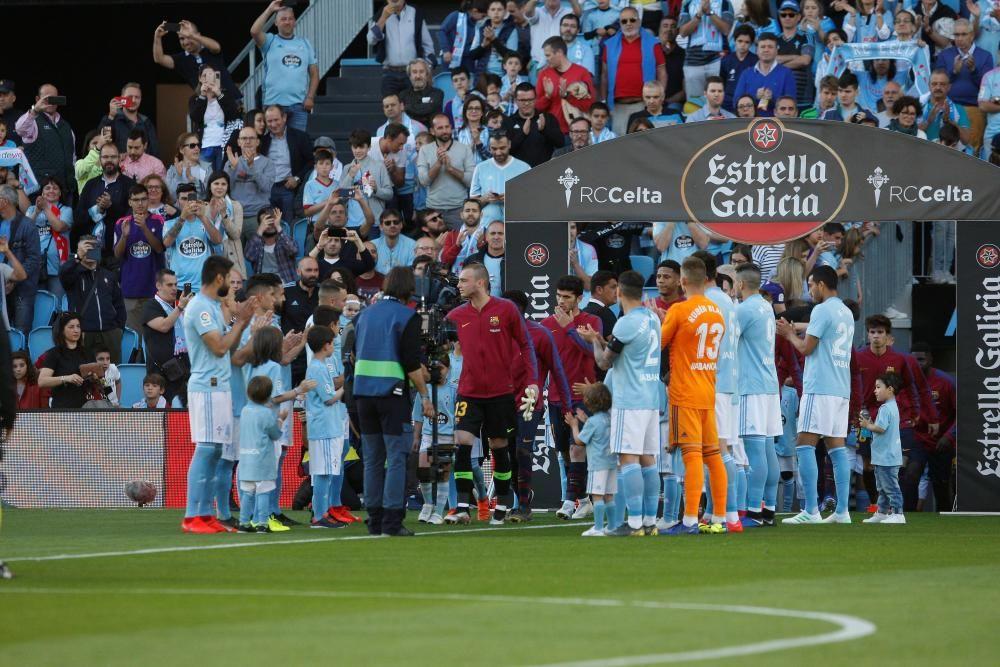 Las imágenes del Celta - Barcelona