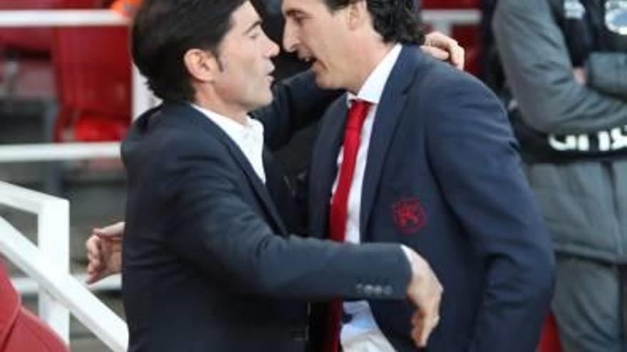 Marcelino, en Londres para negociar con el Arsenal