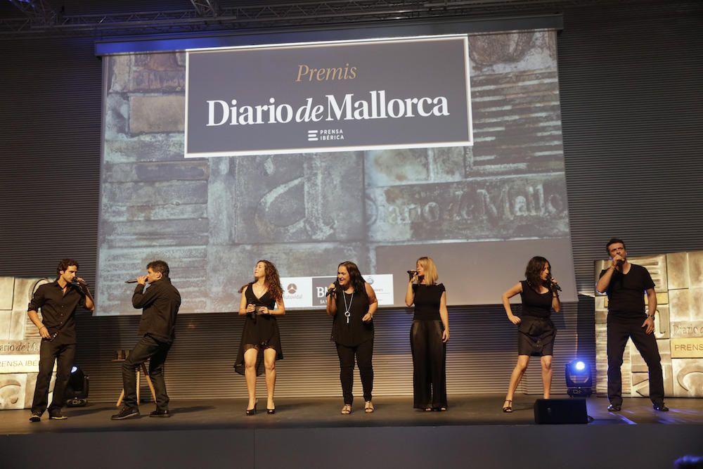 Con la música de Cap Pela comenzó la gala de entrega de los premios