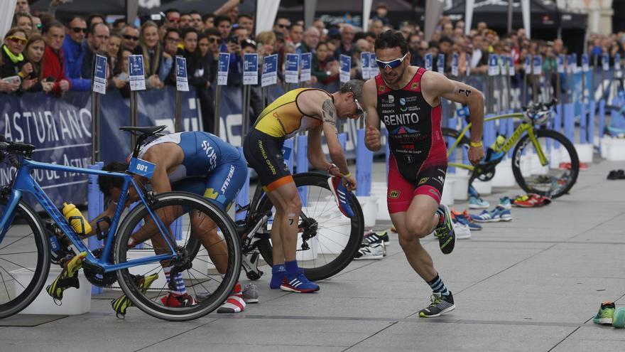Avilés empieza a recibir a los 1.400 atletas del Campeonato de España de Duatlón