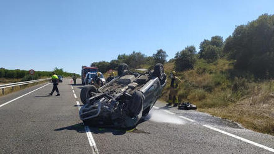 Els morts a la carretera baixen un 33% el primer trimestre, però la meitat són motoristes