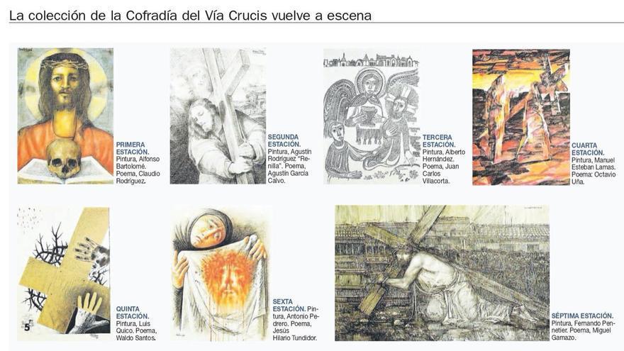 El Vía Crucis del Arte Zamorano, de nuevo noticia