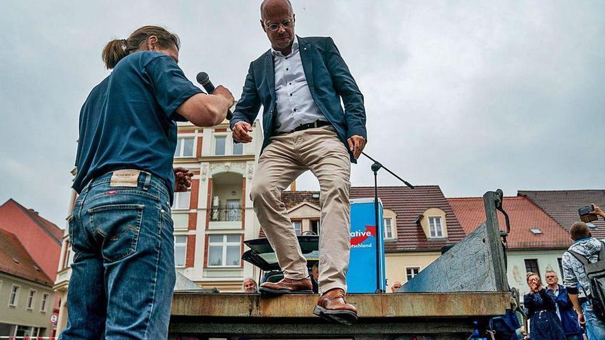 Los ultras alemanes se estrellan con el coronavirus con un 8% de intención de voto