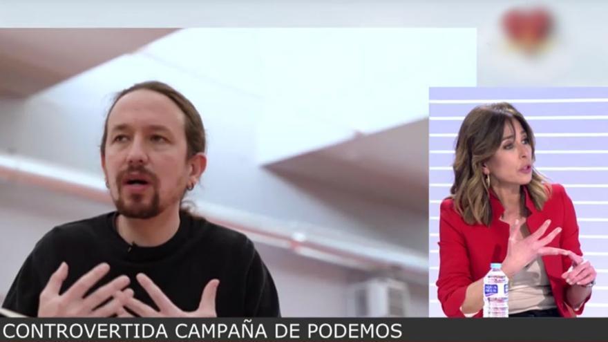 """Ana Terradillos llama """"gentuza"""" a Unidas Podemos tras aparecer en su polémico vídeo electoral: """"Han pasado la raya"""""""