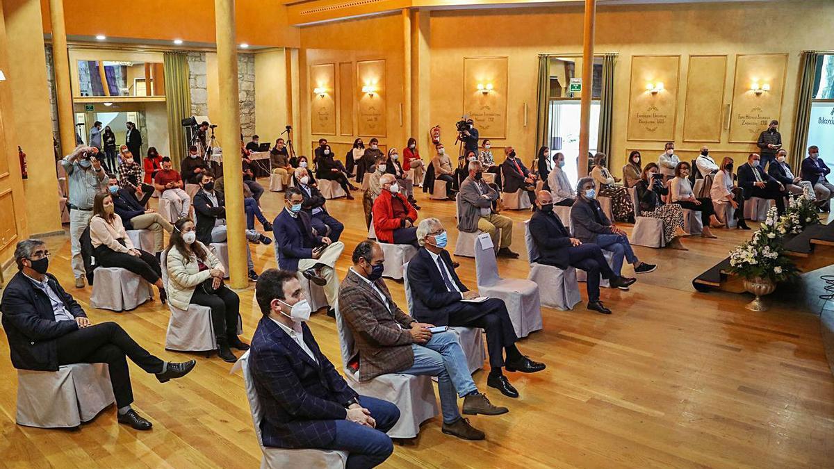 El Balneario de Mondariz acogió el acto de entrega de las acreditaciones de calidad.   | // ANXO GUTIÉRREZ